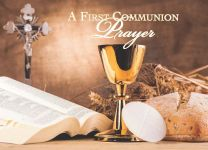 A First Communion Prayer